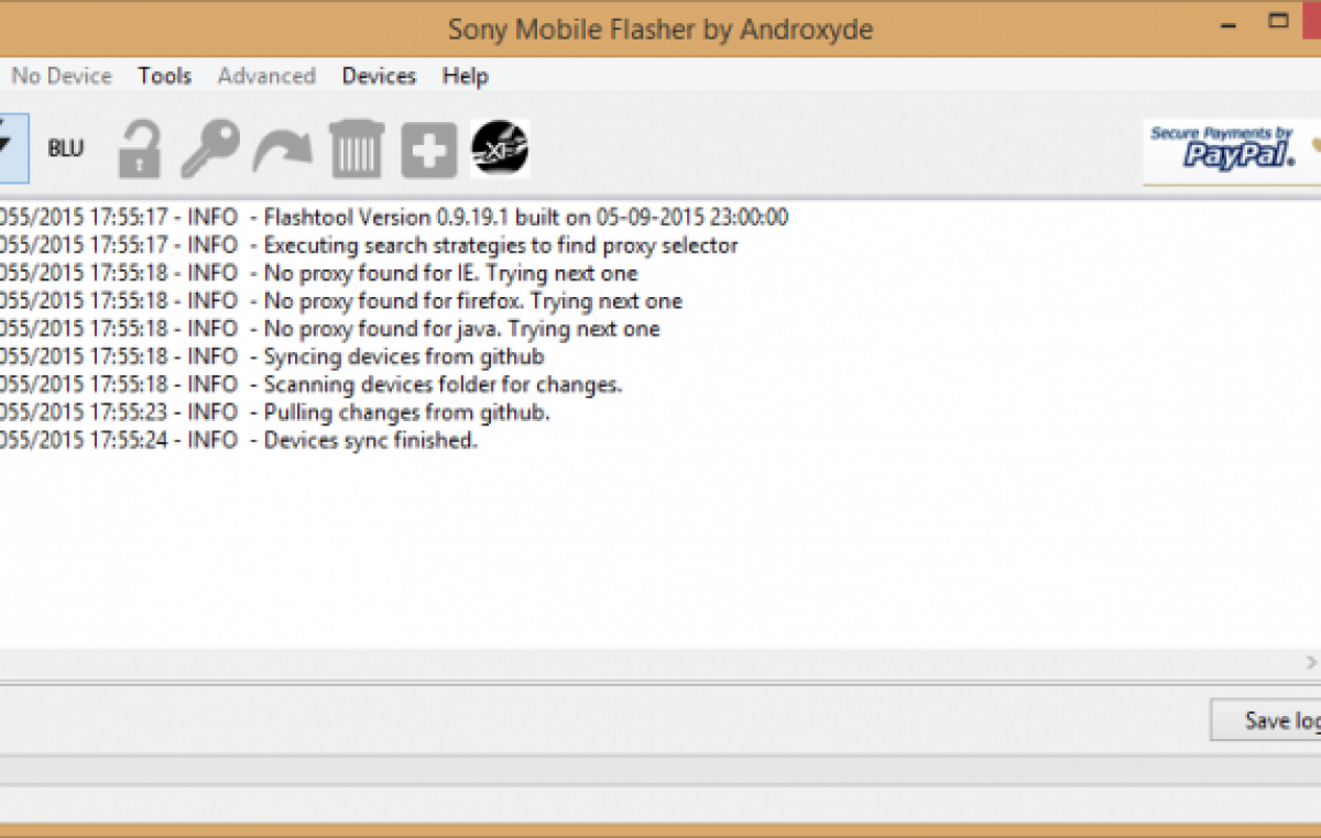 Sony Xperia firmware downloader