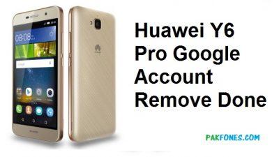 Huawei y6 pro frp unlock new security